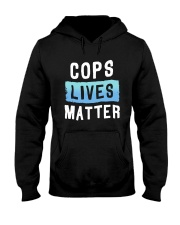 Cops Lives Matter Shirt Hooded Sweatshirt thumbnail
