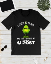 Grinch I Used To Smile And Then I Worked Shirt Classic T-Shirt lifestyle-mens-crewneck-front-17
