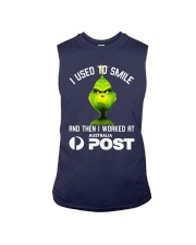 Grinch I Used To Smile And Then I Worked Shirt Sleeveless Tee thumbnail
