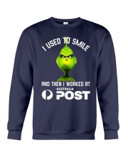 Grinch I Used To Smile And Then I Worked Shirt Crewneck Sweatshirt thumbnail