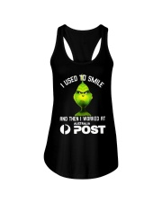 Grinch I Used To Smile And Then I Worked Shirt Ladies Flowy Tank thumbnail