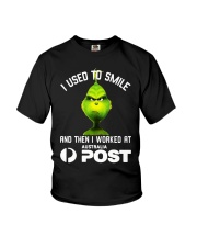 Grinch I Used To Smile And Then I Worked Shirt Youth T-Shirt thumbnail