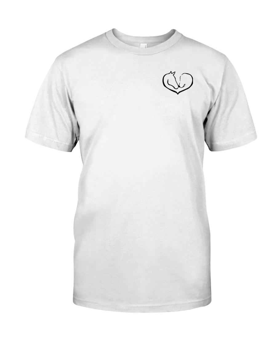 Farm Horse Never Walk Alone Shirt Classic T-Shirt