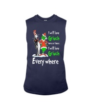 Dr Seuss I Will Love Grinch Here Or There Shirt Sleeveless Tee thumbnail