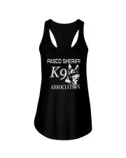 Pasco Sheriff K9 Association Shirt Ladies Flowy Tank thumbnail