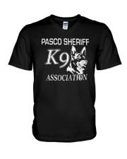 Pasco Sheriff K9 Association Shirt V-Neck T-Shirt thumbnail