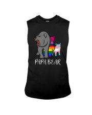 Lgbt Bear Angry Papa Bear Shirt Sleeveless Tee thumbnail