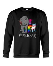 Lgbt Bear Angry Papa Bear Shirt Crewneck Sweatshirt thumbnail