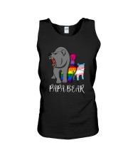 Lgbt Bear Angry Papa Bear Shirt Unisex Tank thumbnail