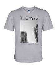The 1975 Jesus Christ 2005 God Bless America Shirt V-Neck T-Shirt thumbnail