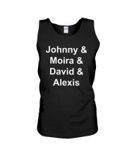 Johnny Moira David Alexis Shirt Unisex Tank thumbnail