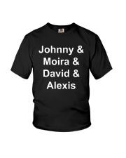 Johnny Moira David Alexis Shirt Youth T-Shirt thumbnail