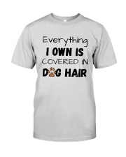 Everything I Own Is Covered In Dog Hair Shirt Premium Fit Mens Tee thumbnail