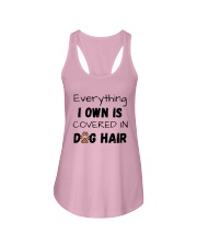 Everything I Own Is Covered In Dog Hair Shirt Ladies Flowy Tank thumbnail
