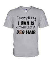 Everything I Own Is Covered In Dog Hair Shirt V-Neck T-Shirt thumbnail