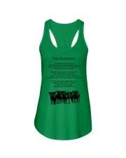 Farmer The Tradition Some Folks Don't Get It Shirt Ladies Flowy Tank thumbnail