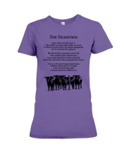 Farmer The Tradition Some Folks Don't Get It Shirt Premium Fit Ladies Tee thumbnail