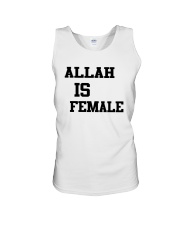 Allah Is Female Shirt Unisex Tank thumbnail