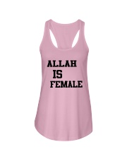 Allah Is Female Shirt Ladies Flowy Tank thumbnail