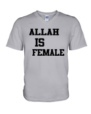 Allah Is Female Shirt V-Neck T-Shirt thumbnail