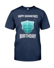 Happy Quarantined Birthday T Shirt Mask Classic T-Shirt tile