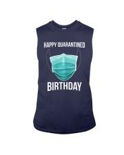 Happy Quarantined Birthday T Shirt Mask Sleeveless Tee thumbnail