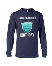 Happy Quarantined Birthday T Shirt Mask Long Sleeve Tee thumbnail