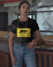 Black Tiger Don't Kneel On Me Shirt Classic T-Shirt apparel-classic-tshirt-lifestyle-05