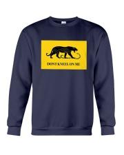 Black Tiger Don't Kneel On Me Shirt Crewneck Sweatshirt thumbnail