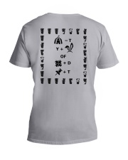 Puzzled Pint T Y Of D T Shirt V-Neck T-Shirt thumbnail
