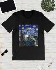 Van Gogh Cat Shirt Classic T-Shirt lifestyle-mens-crewneck-front-17