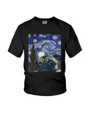 Van Gogh Cat Shirt Youth T-Shirt thumbnail