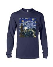 Van Gogh Cat Shirt Long Sleeve Tee thumbnail