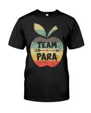 Vintage Apple Team Para Shirt Classic T-Shirt front