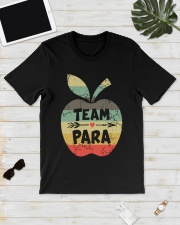Vintage Apple Team Para Shirt Classic T-Shirt lifestyle-mens-crewneck-front-17