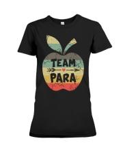 Vintage Apple Team Para Shirt Premium Fit Ladies Tee thumbnail