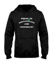Prone To Shenanigans And Tomfoolery Shirt Hooded Sweatshirt thumbnail