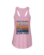 Vintage I Give The Best Blow Jobs Shirt Ladies Flowy Tank thumbnail
