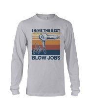 Vintage I Give The Best Blow Jobs Shirt Long Sleeve Tee thumbnail
