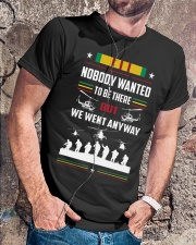 Nobody Wanted To Be There But We Went Anyway Shirt Premium Fit Mens Tee lifestyle-mens-crewneck-front-4