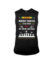 Nobody Wanted To Be There But We Went Anyway Shirt Sleeveless Tee thumbnail