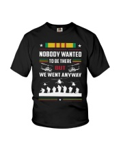 Nobody Wanted To Be There But We Went Anyway Shirt Youth T-Shirt thumbnail