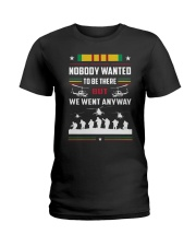Nobody Wanted To Be There But We Went Anyway Shirt Ladies T-Shirt thumbnail