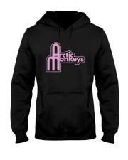 Structural Bespoke Ringer Arctic Monkey Shirt Hooded Sweatshirt thumbnail