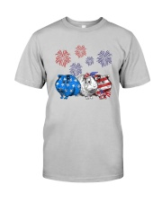Us Independence Day Guinea Pigs Shirt Classic T-Shirt tile
