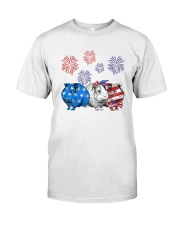 Us Independence Day Guinea Pigs Shirt Classic T-Shirt front