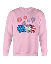 Us Independence Day Guinea Pigs Shirt Crewneck Sweatshirt thumbnail