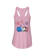 Us Independence Day Guinea Pigs Shirt Ladies Flowy Tank thumbnail