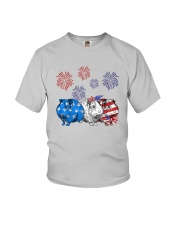 Us Independence Day Guinea Pigs Shirt Youth T-Shirt thumbnail