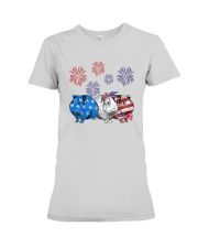 Us Independence Day Guinea Pigs Shirt Premium Fit Ladies Tee thumbnail